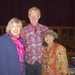 Jean Pearson with Richard & Chandra Law