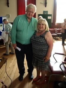 New chairman Keith Coates with speaker Kathryn Ogden